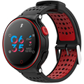 XR02 sangre presión oxígeno Monitor de ritmo cardíaco pulsera inteligente impermeable reloj de Bluetooth para IOS Android teléfonos inteligentes Pk Garmin