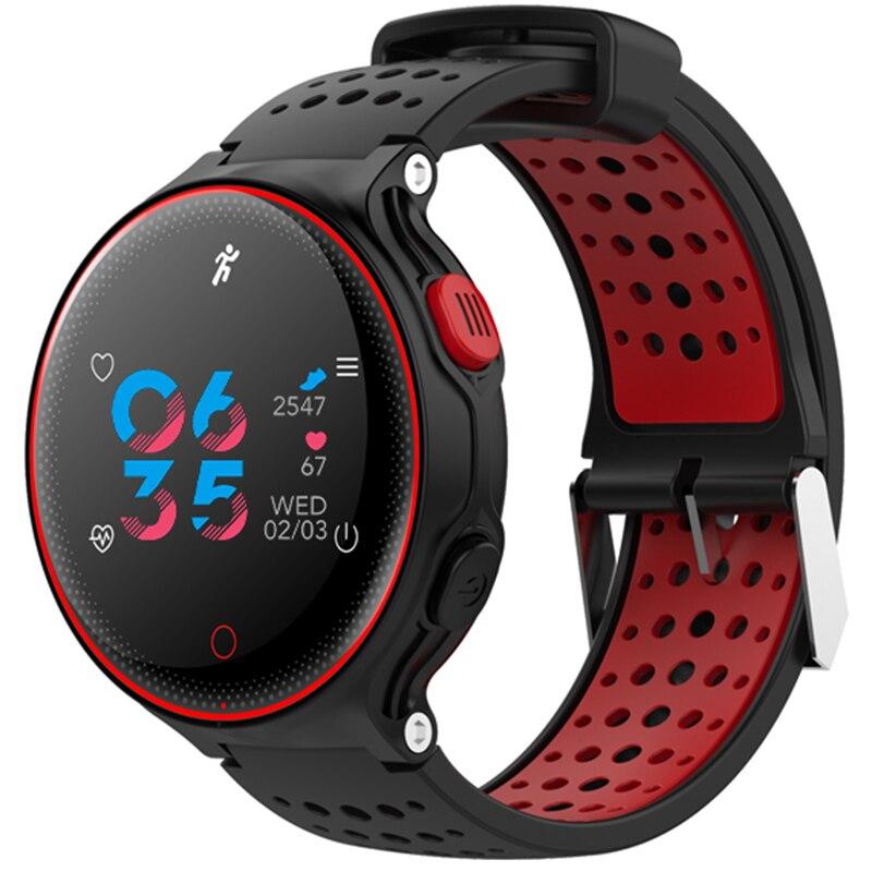 Xr02 Pressão Arterial Oxigênio Monitor De Freqüência Cardíaca Pulseira Inteligente à Prova Dwaterproof água Relógio Bluetooth Para Ios Android Smartphones Pk Garmin