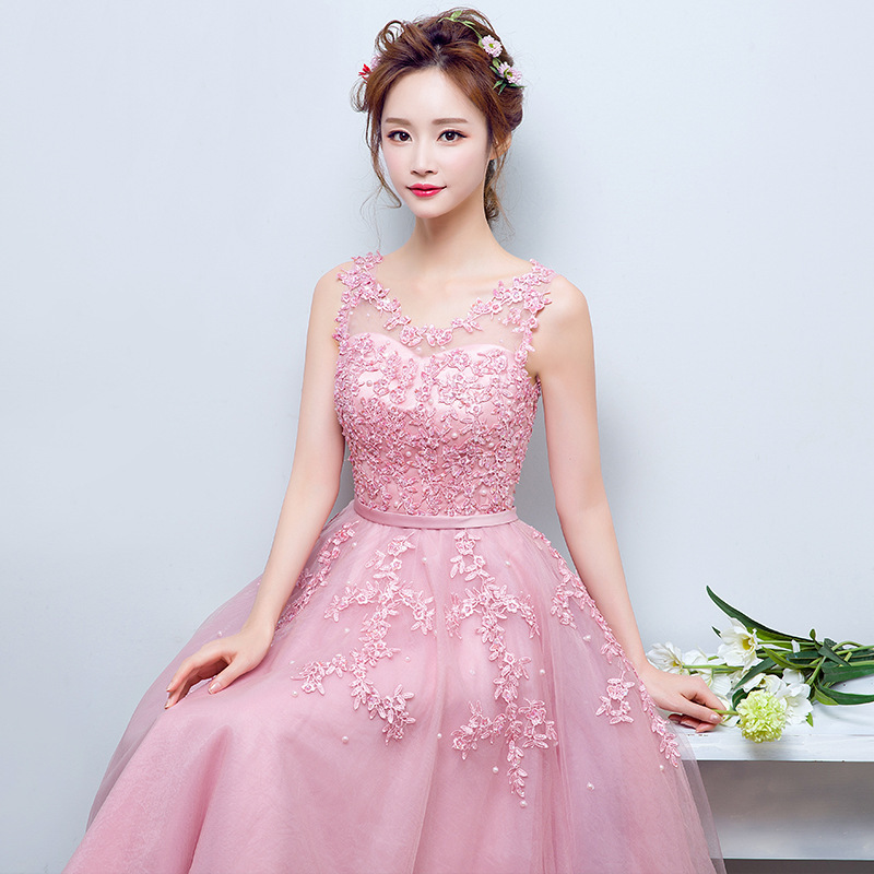 Encantador Vestido De Novia Antiguos Longitud De Té Ideas Ornamento ...