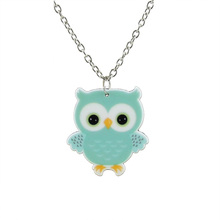 Necklace for Girls with Cute Owl Pendant