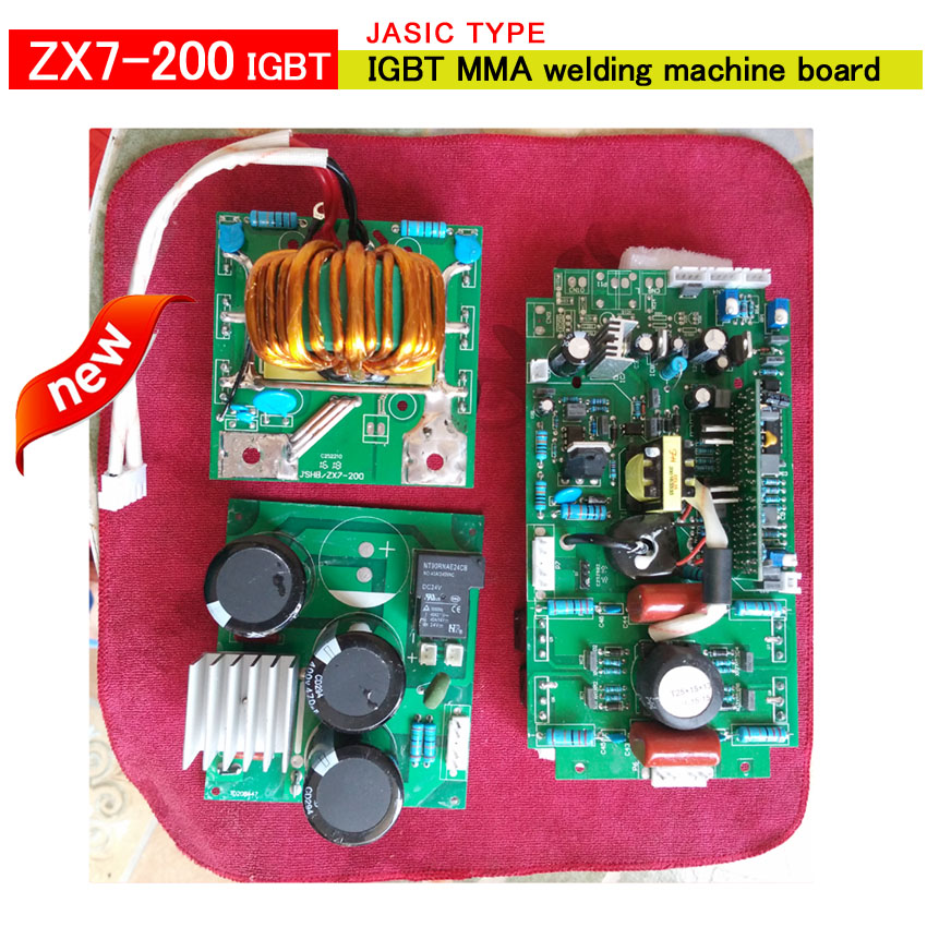 цена на IGBT ZX7 200 PCB for jasic IGBT dc inverter mma welder