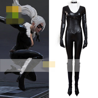 Black Cat Anime Cosplay Costume Suit Animation Show Uniform Sexy Jumpsuits For Halloween And Christmas