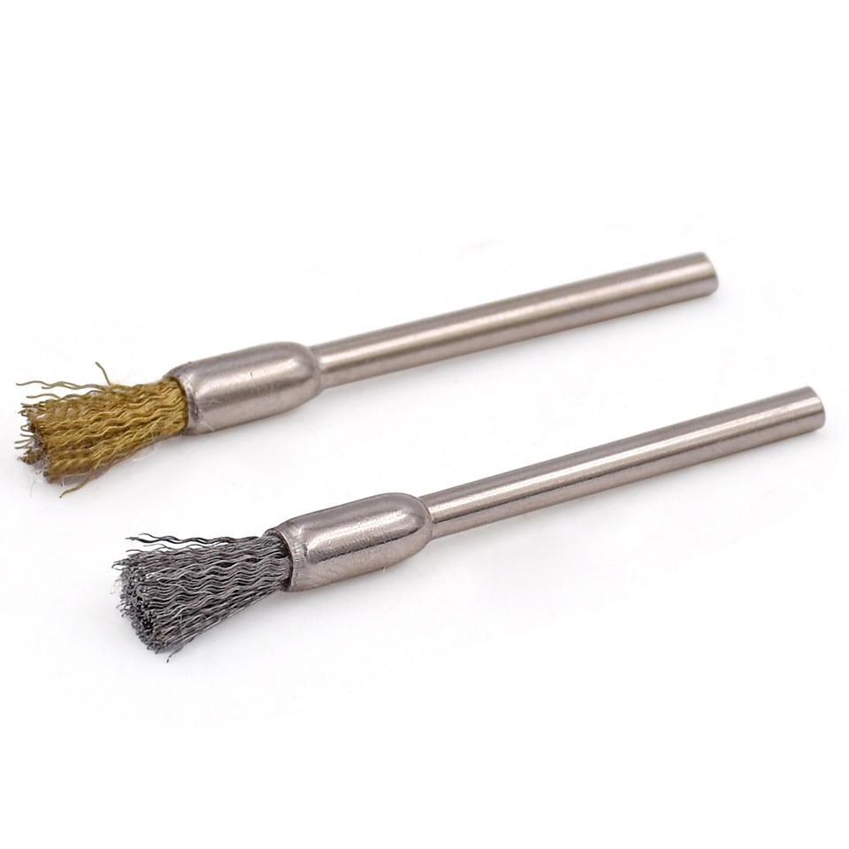 20 pcs Outils Abrasifs Laiton et Fil D'acier Brosse De Polissage Pour - Outils abrasifs - Photo 6
