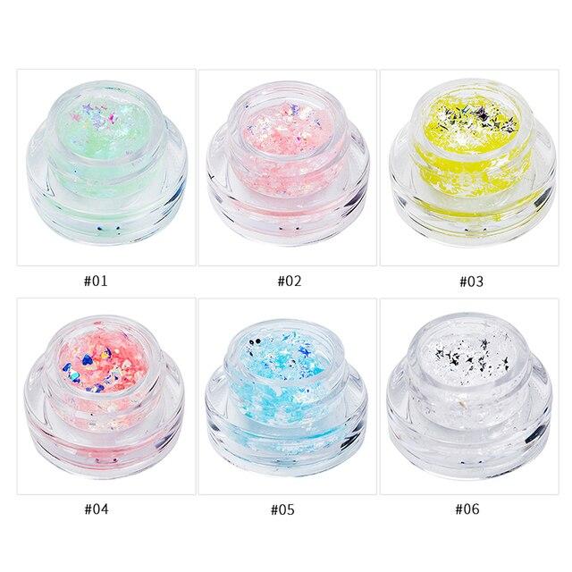Eyeshadow Shimmer Metal Glitter Waterproof Easy to Wear Liquid Eyeshadow Gel Stick Pen Pencil 5
