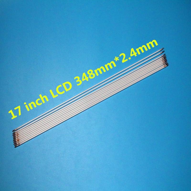 10 Pcs X Universal 17 Zoll Hintergrundbeleuchtung CCFL Lampen 348mm X 2,4mm For 17 ''LCD-Monitor Panel Kostenloser Versand
