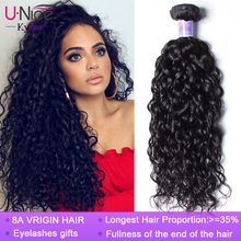 Unice Hair Kysiss hair 8A Brazilian Hair Water Wave Virgin hair 1/3 /4