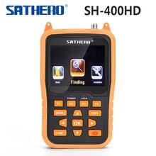 Yojia SATHERO SH-400HD DVB-S2 DVB-S сигнальный спутник Finder 3,5 дюймов ЖК-дисплей Экран 8PSK 16apsk Sathero-400HD цифровой измеритель Finder