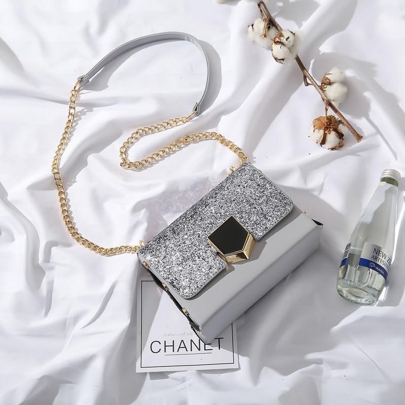 Encanto en manos de Cuero Elegante Bolso de Las Mujeres de Hombro de Las Mujeres Grandes bolsas Cruz Lock Diseño Señora Tote Bolso de mano caliente de noche bolsas