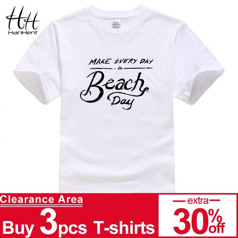 4135ebaf020c HanHent 100% Cotton Holiday Series Men s Short Sleeve Clothes Brand ...