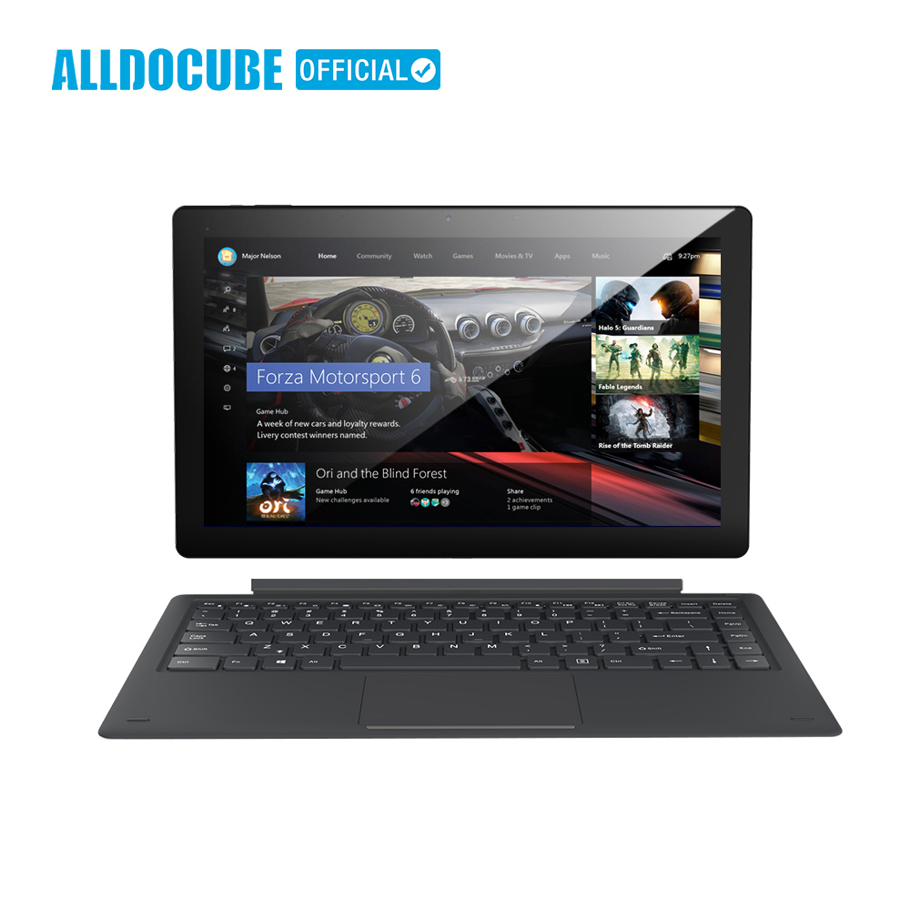ALLDOCUBE Knote8 2 IN 1 Da 13.3 Pollici Tablet PC di Visualizzazione Completa 2560x1440 IPS Windows10 intel Kabylake 7Y30 8 GB di RAM 256 GB di ROM Micro HDMI