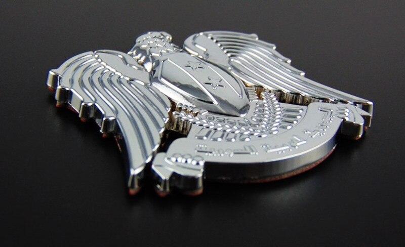 Автомобиль хром эмблема значок орел тотем звезда 3D логотип серебро Новый