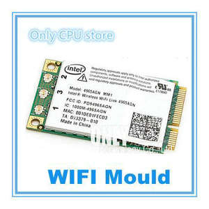 1720 4965AGN Wifi Express Wireless-N-Card Inspiron 9400 Mini-Pci Dell Intel for 1501/1520/1521/..