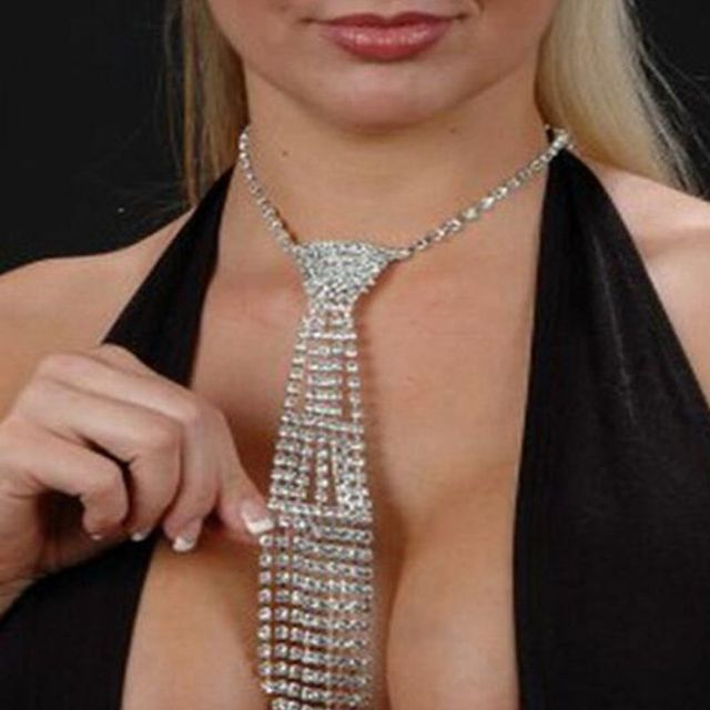 Luxury Style Sexy Tie Necklace1