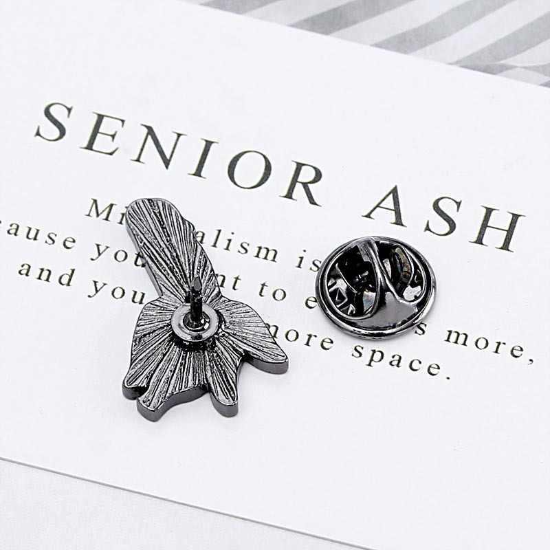 Panas Pisang Pin Bros Keras Enamel Kerah Pin Ransel Jaket untuk Pria Wanita Lucu Perhiasan Aksesoris Hadiah untuk Teman-teman