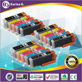15PK Compatible for Canon printer Ink Cartridge PGI 450XL CLI 451XL MG6440 IP7240 MX924