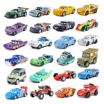 Disney Pixar Cars 3 Lightning McQueen Mater Jackson Storm Ramirez Diecast Metal Alloy Model Toy Car Gift For Christmas Gifts image