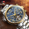 2016 Luxury Brand Карнавал Tourbillon часы мужчины механические часы сапфир Водонепроницаемый 30 м моды для мужчин часы часы Relogio