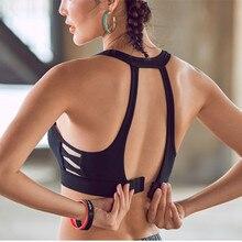 7b62e09e89ef5 Mermaid Curve New Style Side Cross Women Mesh Sports Bra Push Up Adjustable  Bras Gym Fitness