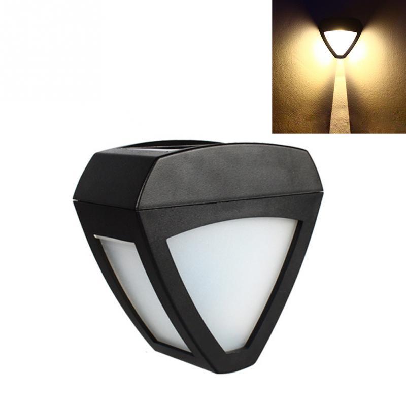Wasserdicht Energiesparende Dreieck Garten Lampe Wand Licht Dekorative Herz-form Led Solar Licht Ausreichende Versorgung Licht & Beleuchtung Solarlampen