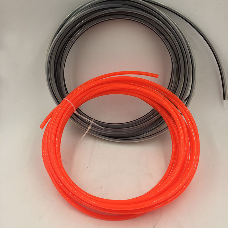 SAT9205 PU Hose Nylon Anti-corrosion Hose 4*6 5*8 10meter for Air Compressor Double Nozzle Spray Gun AB Agent 2 5 8 refrigeration unit anti shake hose vibration absorber suitable for screw compressor unit replace muller products