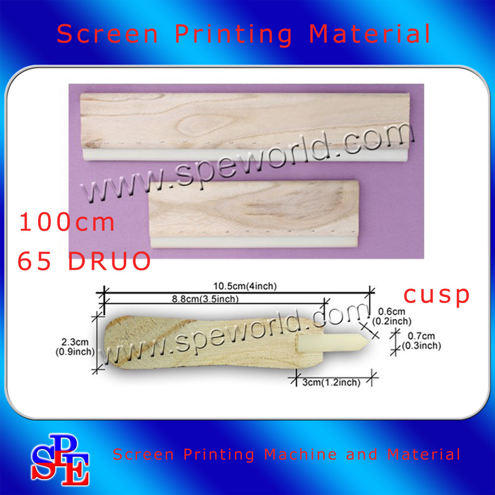 Silk Screen Printing Squeegee 100cm (40inch) CUSP65 Duro Ink Scaper Tools Materials free shipping discount cheap 2 pcs silk screen printing squeegee 24cm 33cm 9 4 13inch ink scaper tools materials
