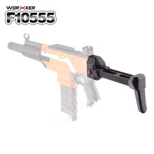Worker Mod Shoulder Stock Compact Tail Stock Buttstock Toy Gun Accessories Replacement For Nerf N-strike Elite Series Toy Gun