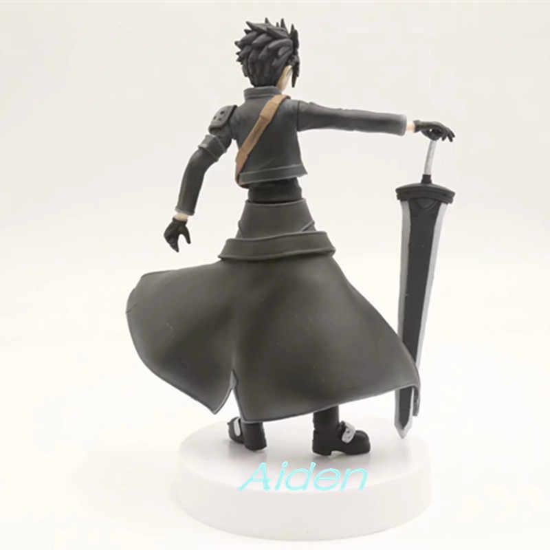 """8 """"Меч книги по искусству онлайн Фея танец Kirigaya Kazuto Kirito Spriggan ПВХ фигурку Коллекционная модель игрушки коробка 18 см L517"""