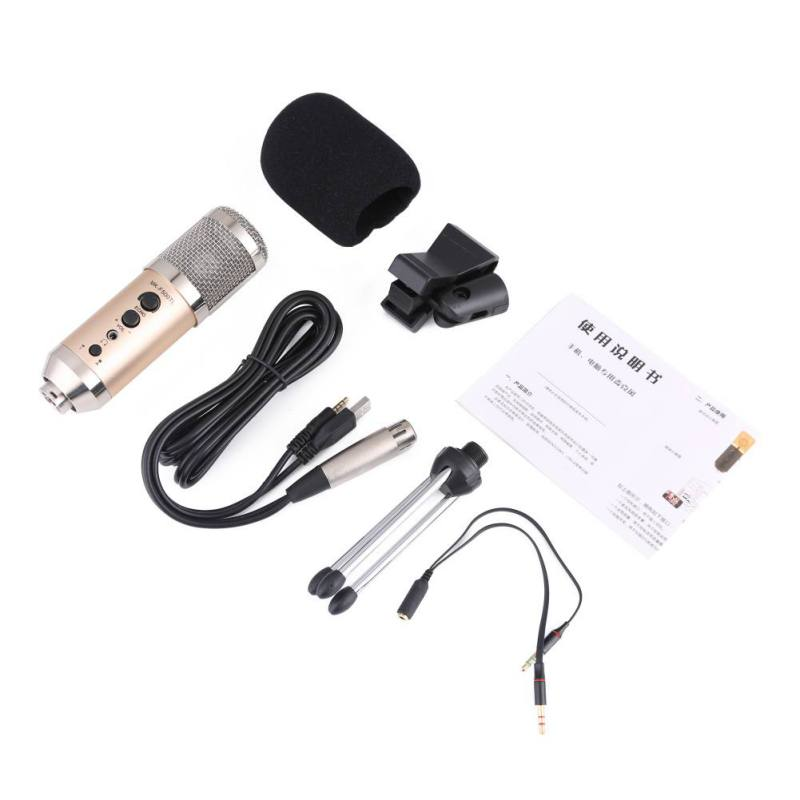 Portable Handheld Microphone MK-F500TL Large Diaphragm Studio Recording Microphones for Mobile Phone Computer Vocal MicPortable Handheld Microphone MK-F500TL Large Diaphragm Studio Recording Microphones for Mobile Phone Computer Vocal Mic