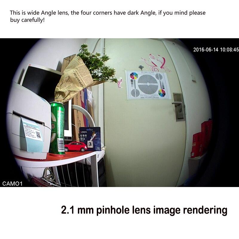 Fio Da Câmera Invisível 940nm IR LED Embutido MIC camhi