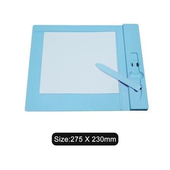 275*230MM plastic scoring board paper card cuting Cutting Mat Adhesive Mat Pad with Measuring Grid 2019 new craft DIY tools