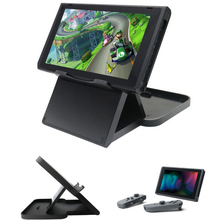 Compact Playstand Desktop Stand For Nintend Switch NS Game Console Holder Adjustable Angle Foldable Base Bracket Accessories(China)