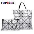 Japanese Design Magic Rhombus Lady Square Bags 2017 Spring New Women Handbags Elegant Girl's Composite Bags Autumn Bags H038