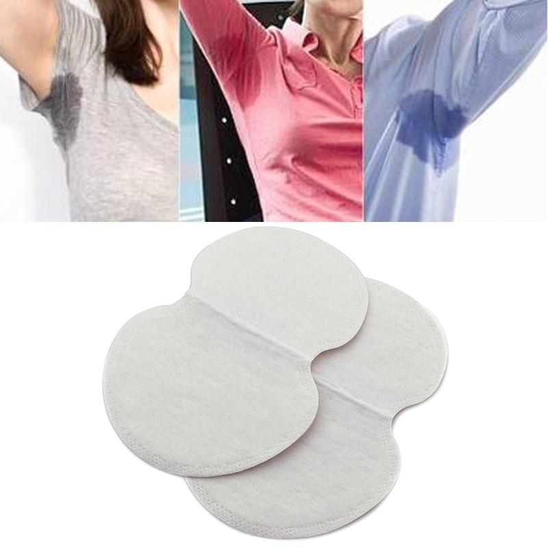 50pcs Deodorant Underarm Sweat Pads Dress Perspiration Pads Shield Underarm Armpits Sweat Pads For Women Armpit Absorbent Pads