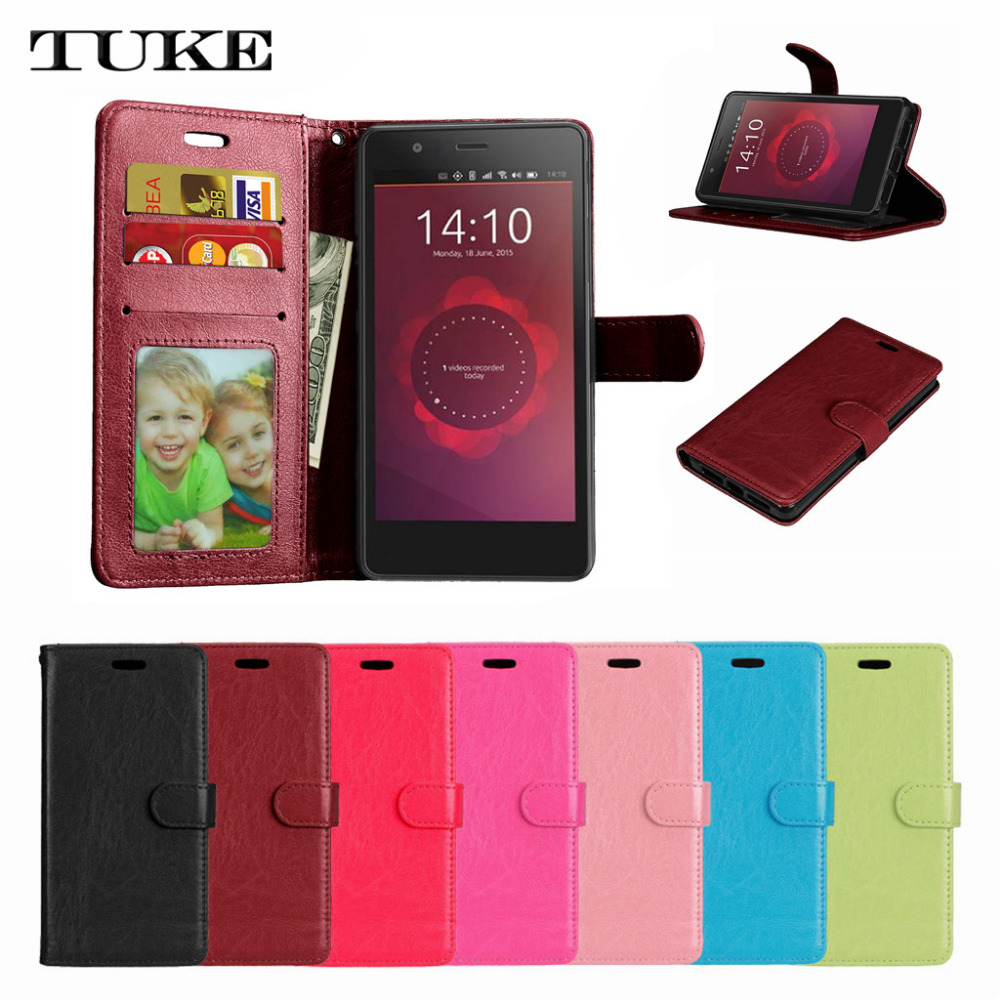 TUKE Fashion Flip Leather Cover <font><b>Case</b></font> for <font><b>LG</b></font> <font><b>Leon</b></font> <font><b>4G</b></font> <font><b>LTE</b></font> C40 H340N H324 with Wallet Style SJ5253 image