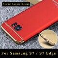 "s7 case Original ipaky brand Luxury Silm 3 IN 1 PC cover For Samsung s7 case back cover For Samsung galaxy s7 G9300 case 5.1"""