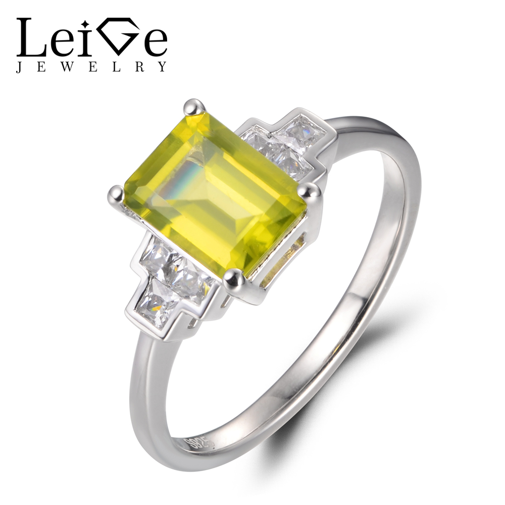 gemstone wedding ring cocktail quartz diamond gold peridot rings ladies