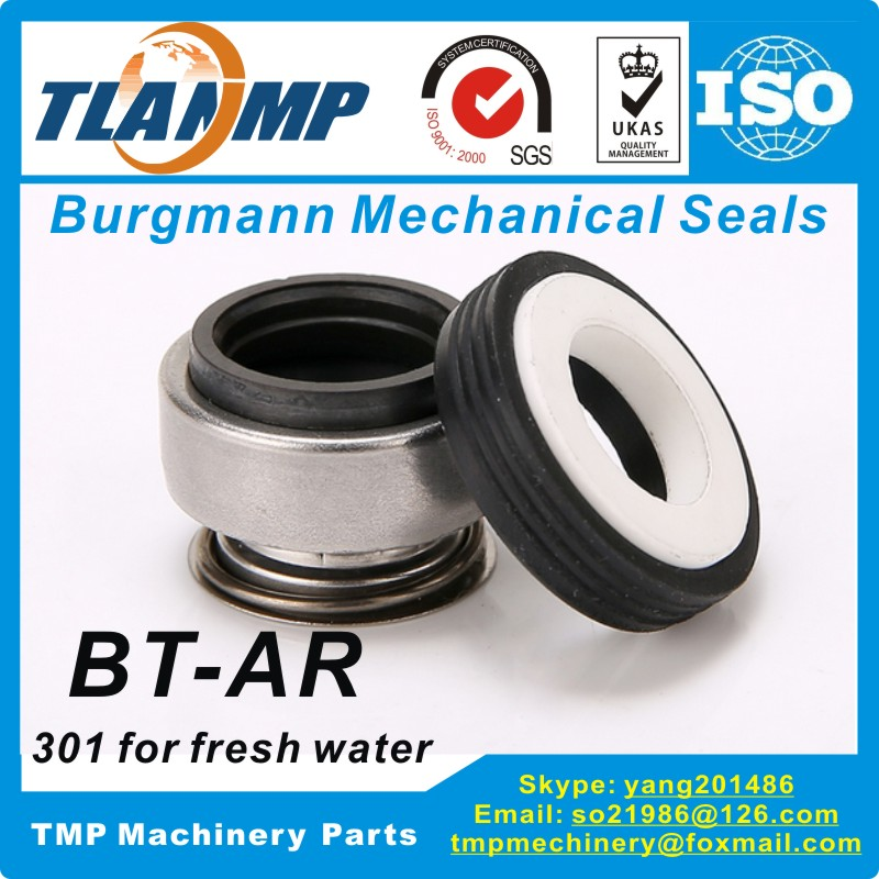 301-40 (BT-AR-40) Rubber Bellow Mechanical Seals (Material:Carbon/Ceramic/NBR)|Equivalent to Burgmann BT-AR Seal