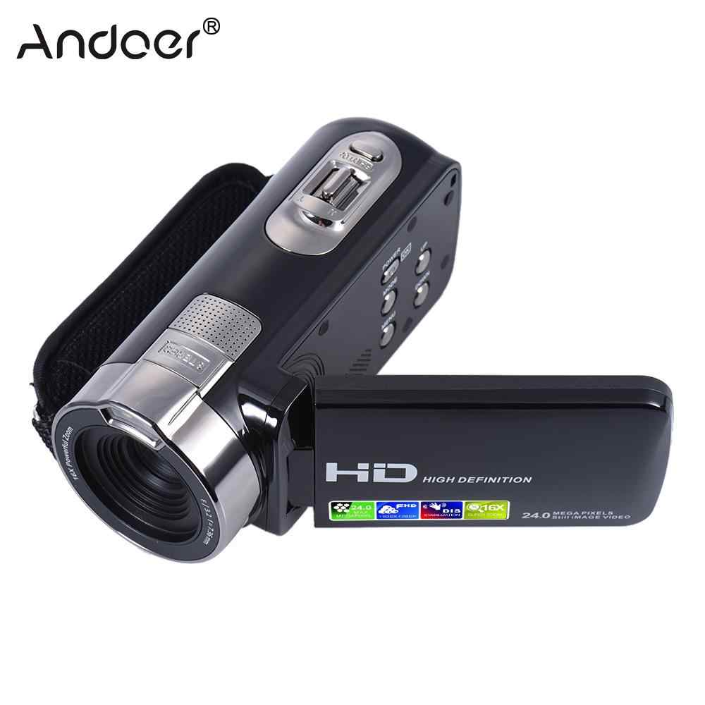 HDV-302P 3,0 zoll Lcd-bildschirm Full HD 1080 p 15FPS 24MP 16X Digital Zoom Anti-shake Digital Video DV kamera Camcorder