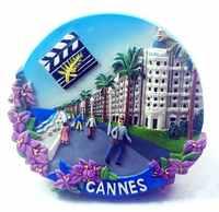 Frankreich Cannes Internationalen Festival 3D Kühlschrank Magneten Tourismus Souvenirs Kühlschrank Magnetischen Aufkleber Home Dekoration