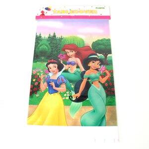Image 3 - 108 × 180 センチメートル王女テーブルクロスキッズガールズ誕生日パーティーの装飾大人パーティー用品 anniversaire