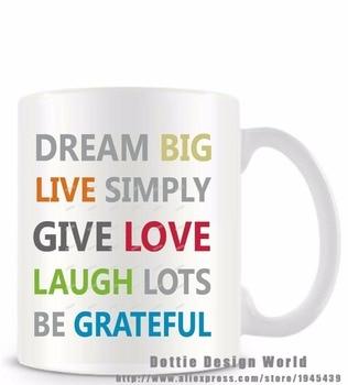 Online shop it takes a big heart to shape little minds funny dream big live simply give love quote funny novelty travel mug white coffee tea milk mug negle Choice Image