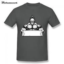 2017 Newest Men's T-shirt Muscle Skull man Tees Youth Clothing 100% Cotton Short Sleeve Gravity Tshirt Men Tops MTY060