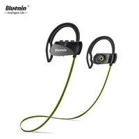 Bluenin Neckband Bluetooth Headphones Sport Gym Earbuds Workout Sweatproof Wireless Earphones with Microphone for Samsung iphone