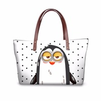 FORUDESIGNS Kawaii Animal Printing Women Shoulder Bag 2017 New Designer Cat Tote Handbags High Quality Ladies Bag Bolsa feminina