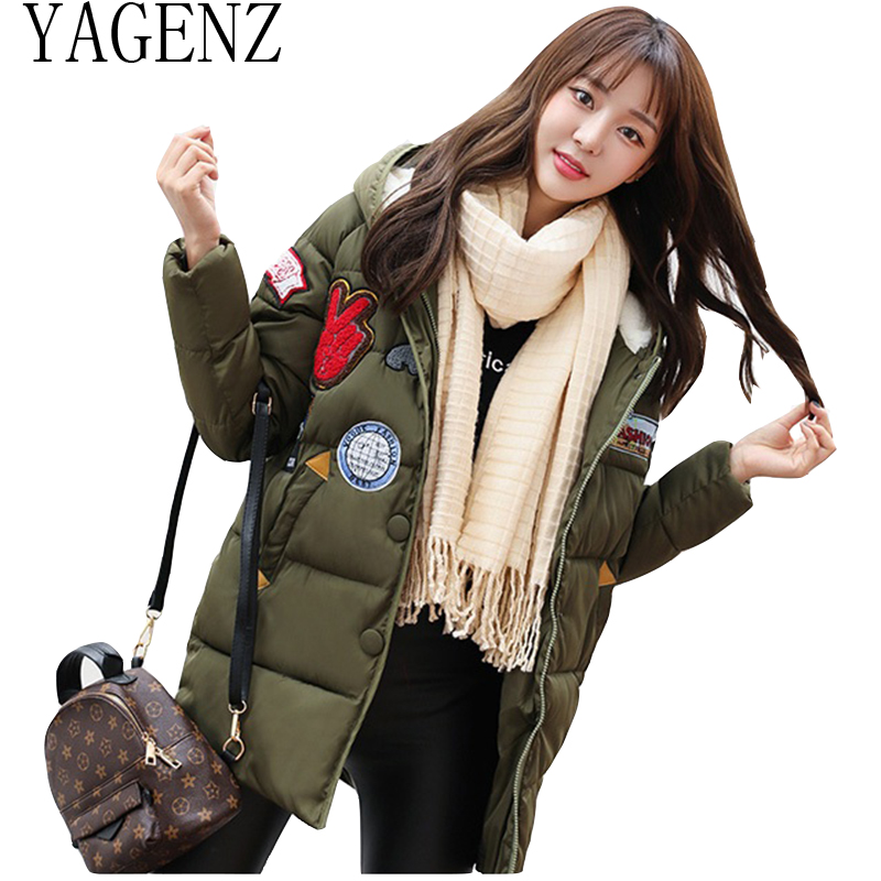 2018 New Women Winter Jacket Cotton Coat Korean Slim Women's Parkas Plus Thick Down Cotton Overcoats Warm Hooded Student Jacket down cotton winter hooded jacket coat women clothing casual slim thick lady parkas cotton jacket large size warm jacket student