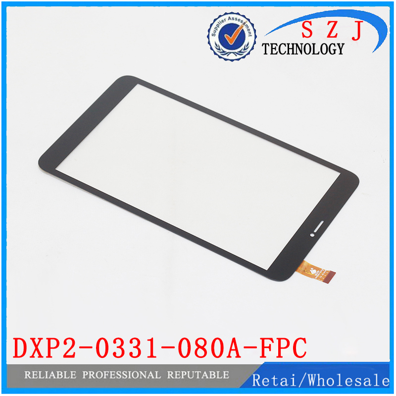 New 8'' Inch case DXP2-0331-080A-FPC Touch Screen panel Digitizer Sensor Tablet Repairment Parts Tablet Pc Free shipping new 10 1 inch case for asus memo pad 10 me102 me102a v3 0 mcf 101 0990 01 fpc v3 0 touch panel screen digitizer free shipping