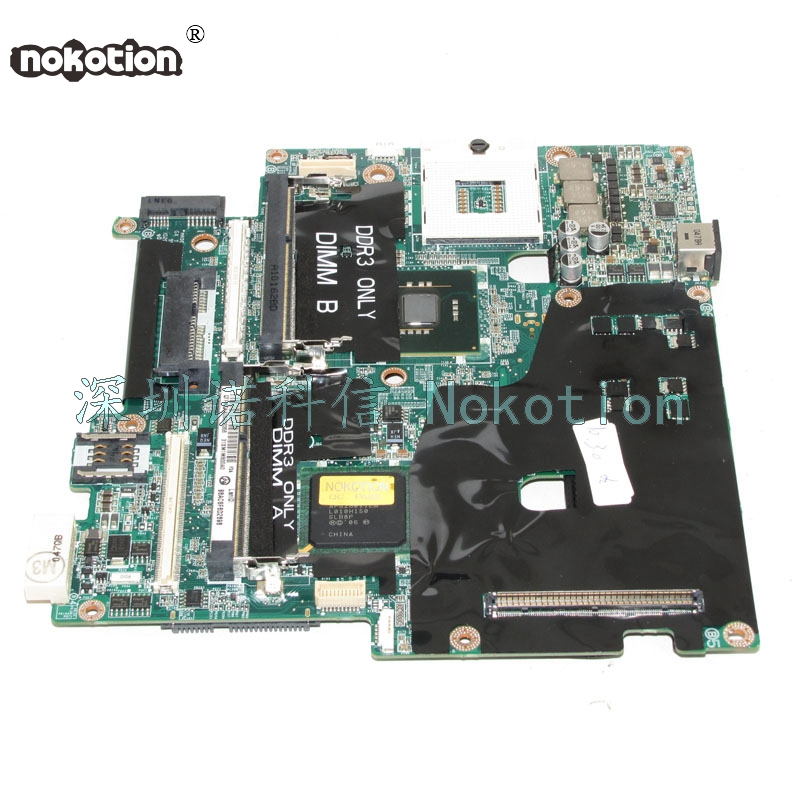 NOKOTION 31XM1MB00A0 CN-0CDWGG CDWGG For Pecision M6400 Laptop motherboard Q43 DDR3NOKOTION 31XM1MB00A0 CN-0CDWGG CDWGG For Pecision M6400 Laptop motherboard Q43 DDR3