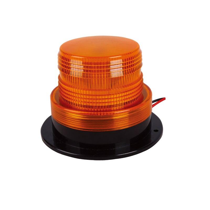10-110V 5W AMBER STROBE LED Forklift lamp Emergency Warning Light Beacon school Bus police scraper forklift lights