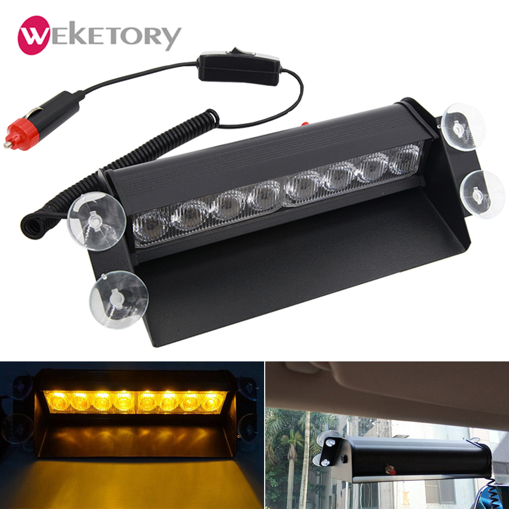Security Alarm Alarm Lamp Ltd-6201 Vehicle Warning Light Brand New Blue Yellow Red 12v Led Car Truck Magnetic Flash Beacon Strobe Emergency Lamp