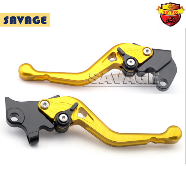 For YAMAHA YZF R125 YZF-R125 2012-2013 Golden Motorcycle Accessories CNC Aluminum Short Brake Clutch Levers sunx photoelectric switch sensor cx 441